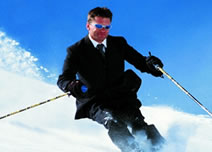 biznis ljudi skijaš